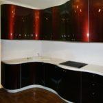 Кухонный гарнитур угловой для кухни